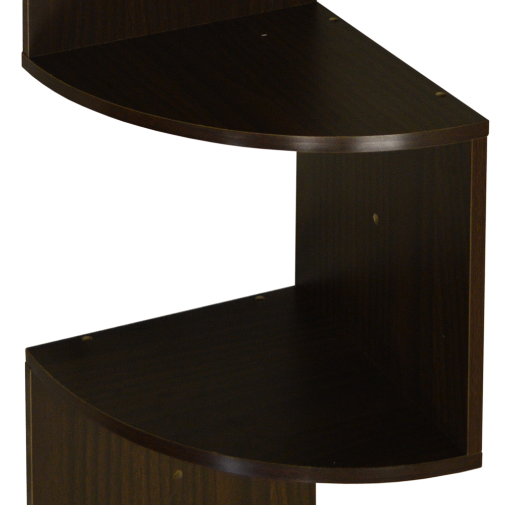 Moar Large 130cm Wall Mounted Floating Curved Corner
